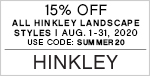 15% Off All Hinkley Landscape Styles | August 1-31 | Use Code: SUMMER20