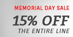 Justice Design | Memorial Day Sale | 15% Off the Entire Line
