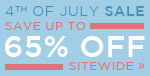 4th of July Sale | Save up to 65% Off Sitewide | Go Fourth & Shop