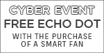Pre-Black Friday Sale | Modern Forms | Receive A FREE ECHO DOT with the purchase of a Smart Fan | No Code Required | Supplies Limited