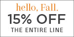 Hello, Fall | Feiss Collection | 15% Off the Entire Line | No Code Required | Save Now