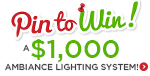 Pin the LNY LED & Energy Star products to win a $1,000 Ambiance Lighting System!