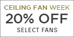 Ceiling Fan Week | Quorum International | 20% Off Select Fans | With Code: BREEZY19 | Save Now