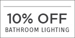Quoizel | 10% OFF Bathroom Lighting | with code: QZL219 | Save Now