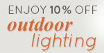Enjoy 10% off OUTDOOR LIGHTING from Quoizel!