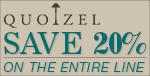 Save 20% on QUOIZEL!