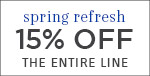 Spring Refresh | Savoy House | 15% OFF The Entire Line | no code required | Save Now