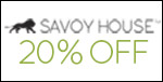 Savoy House l 20% off the entire line