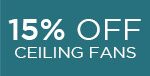 15% off SAVOY HOUSE Ceiling Fans! (COPY)