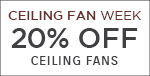 Ceiling Fan Week | Savoy House | 20% OFF Ceiling Fans | No Code Required | Save Now