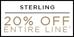 Sterling | 20% OFF The Entire Line | Shop Now
