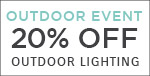 Outdoor Event | Troy Lighting | 20% Off Outdoor Lighting | No Code Required | Save Now