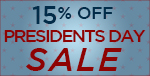 15% Off Troy Lighting Presidents Day Sale!