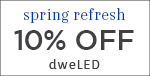 Spring Refresh | WAC Lighting | 10% OFF dweLED | with code: WAC319 | Save Now