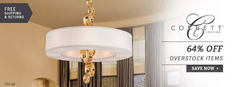 Corbett Lighting | 64% Off Overstock Items