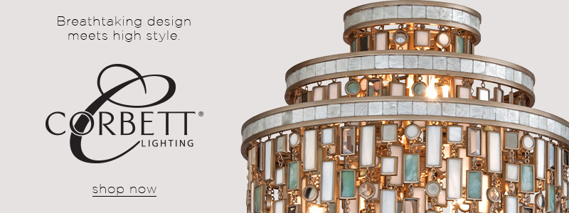 Breathtaking design meets high style | Corbett Lighting | shop now