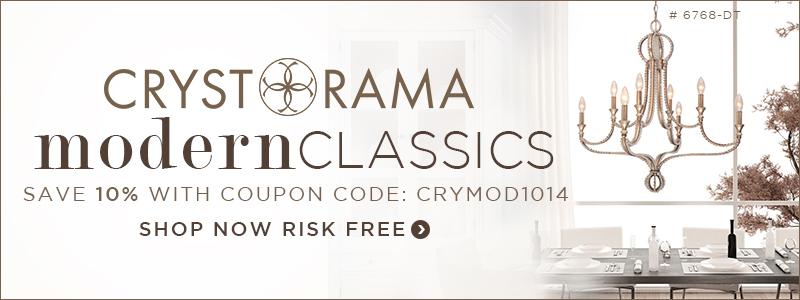 SAVE 10% on CRYSTORAMA MODERN CLASSICS!