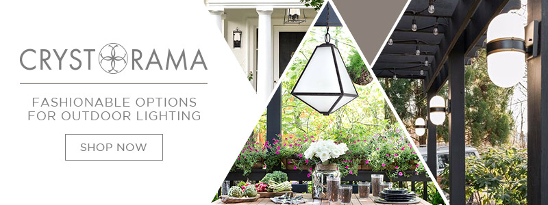 Crystorama | Fashionable Options for Outdoor Lighting | Shop Now
