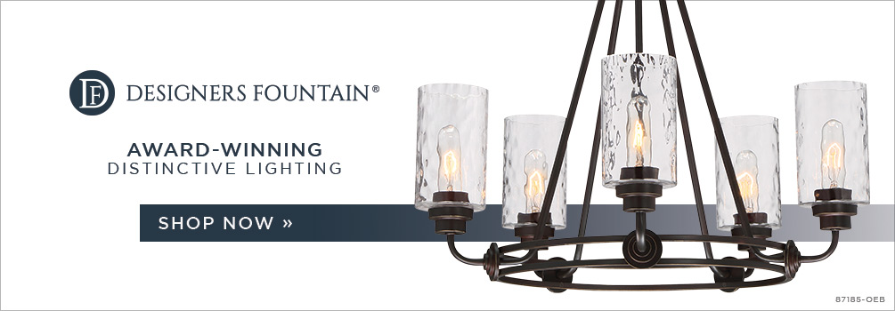 Designers Fountain | Award-Winning Distinctive Lighting | Shop Now