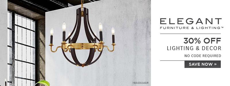 Elegant Lighting | 30% OFF Lighting U0026 Decor | No Code Required