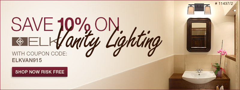ELK Lighting | 10% off Vanity Lighting