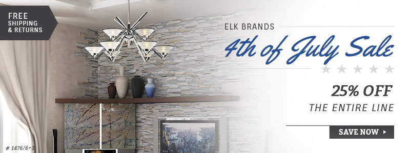 ELK Brands | 4th of July Sale | 20% Off the Entire Line