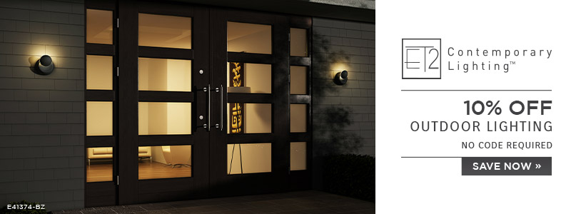 ET2 Contemporary Lighting | 10% Off Outdoor Lighting | No code required | Save Now