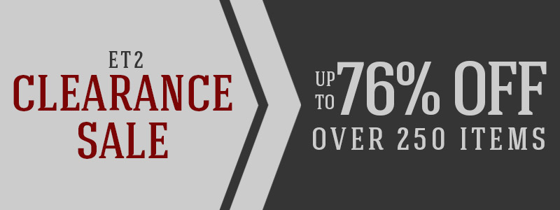 UP TO 76% OFF OVER 250 ITEMS!