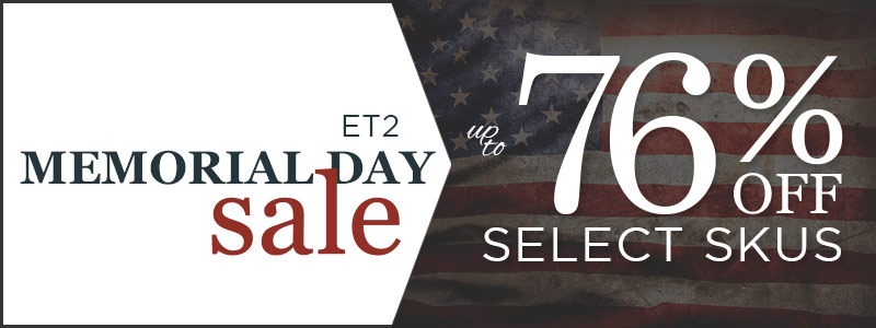 up to 76% Off Select Skus!