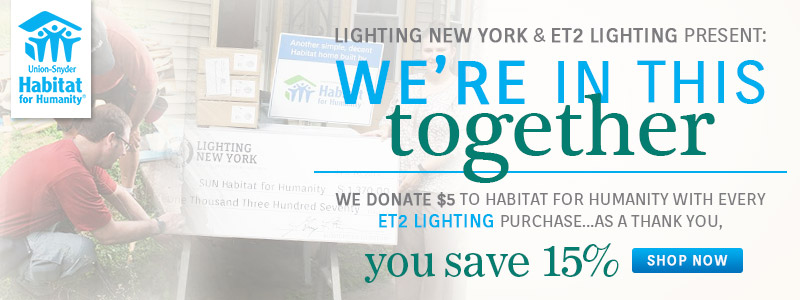 ET2 Contemporary Lighting | 15% Off Entire Line