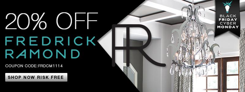 Save 20% on FREDRICK RAMOND!