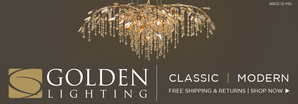 Golden Lighting: Classic | Modern
