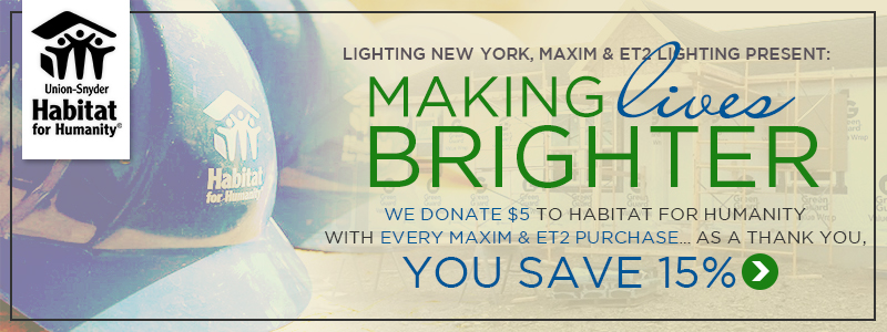 We donate $5 with every purchase from MAXIM & ET2 | You Save 15%!