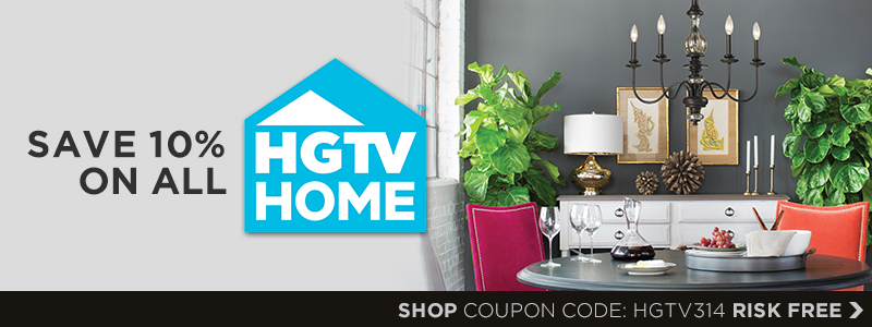Save 10% on HGTV HOME!