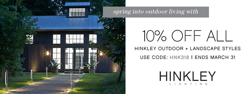 Hinkley Lighting | 10% OFF Outdoor & Landscape Lighting