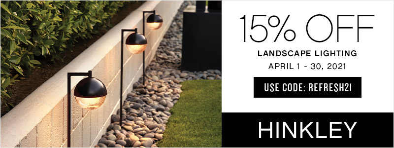 Hinkley Lighting | 15% Off Landscape Lighting | With Code: REFRESH21 | Save Now