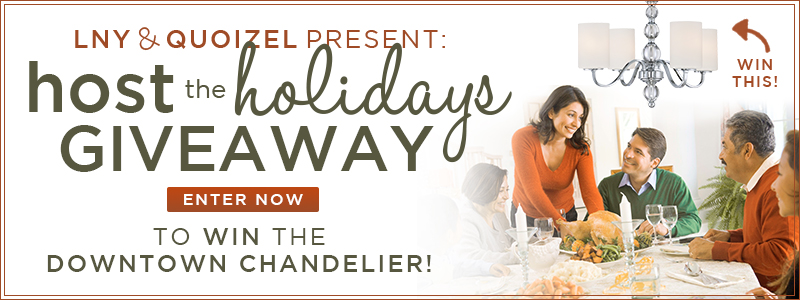 LNY & QUOIZEL PRESENT:  Host the Holidays Giveaway!
