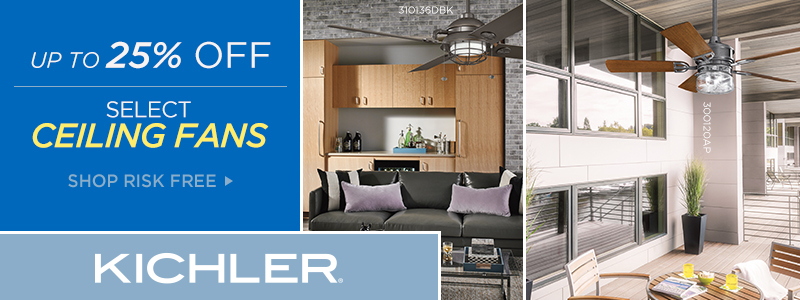 Kichler | 10% Off Select Ceiling Fans