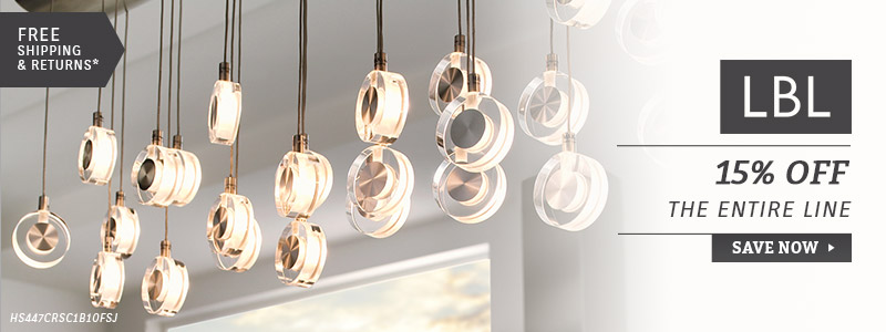 LBL Lighting | 15% Off Entire Line