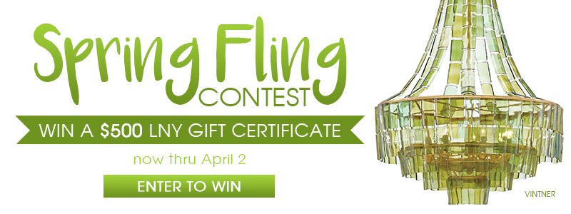 Spring Fling Contest | Win a $500 LNY Gift Certificate