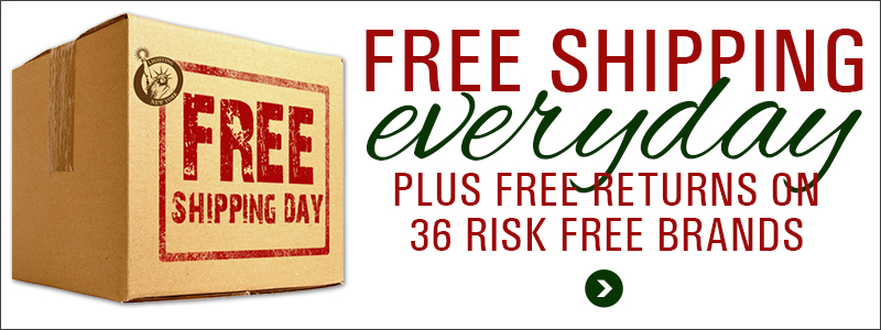 FREE SHIPPING DAY!  Free Standard Shipping on Orders Over $49!