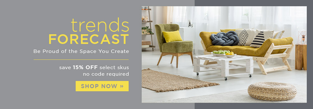 Trends Forecast | Save 15% Off Select Skus | No Code Required | Shop Now