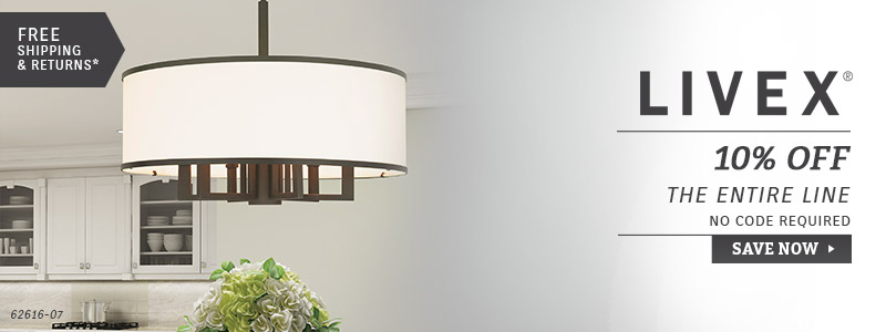 Livex Lighting | 10% OFF The Entire Line