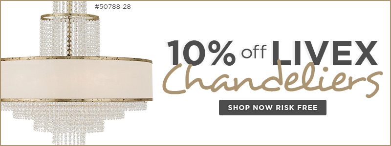 LIVEX Lighting | 10% off Ceiling Fixtures