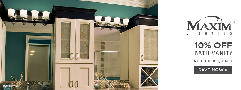 Maxim Lighting | 10% OFF Bath Vanity | no code required | Save Now
