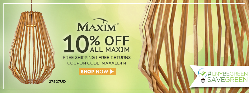 10% OFF all MAXIM!