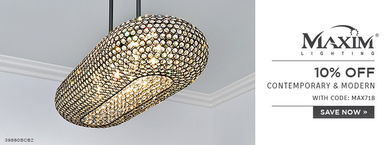 Maxim Lighting | 10% OFF Contemporary & Modern | with code: MAX718