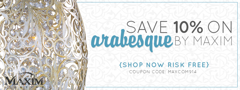 Save 10% on ARABESQUE BY MAXIM!