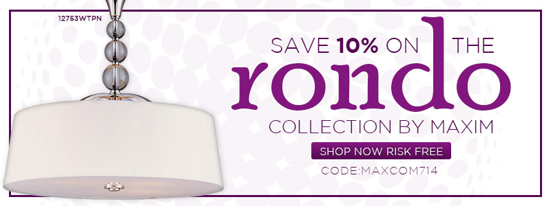 Save 10% on the Rondo Collection by Maxim!