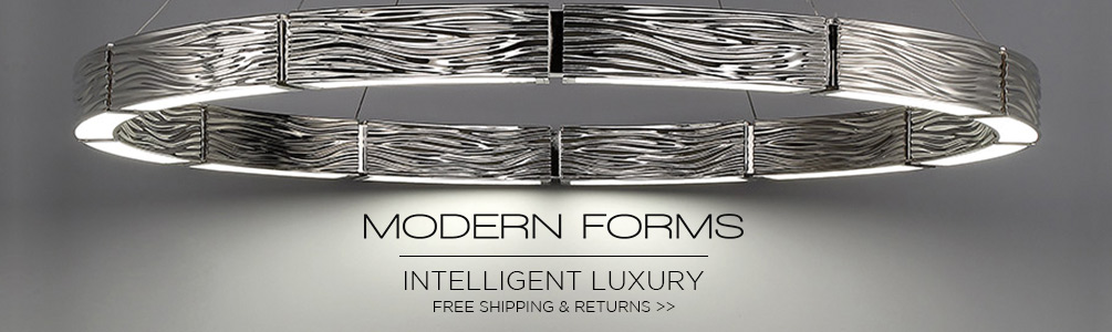 Modern Forms | Intelligent Luxury | Free Shipping and Returns